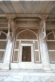 Marble Temple doorway